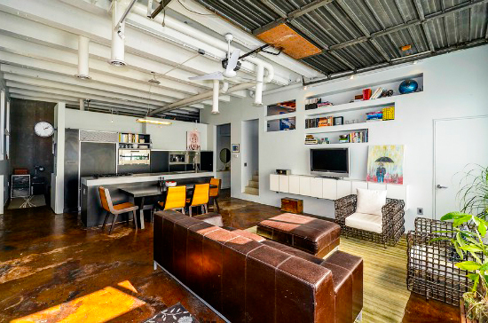 Transforming your garage into the coolest studio apartment ever